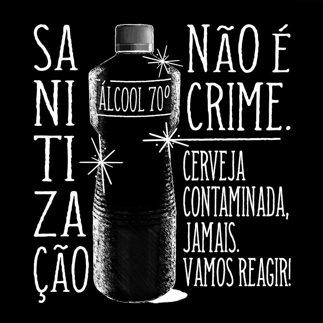 alcool não é crime