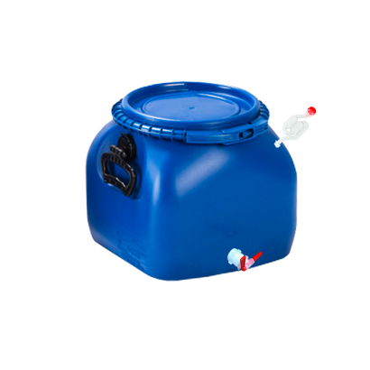 Balde Fermentador Bombona Completo 20L - Cor Azul