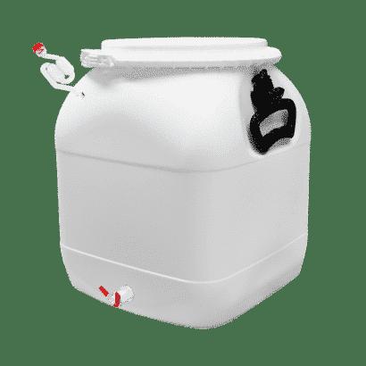 Balde Fermentador Bombona Completo 30L - Cor Branca