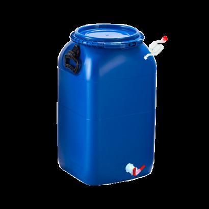 Balde Fermentador Bombona Completo 50L - Cor Azul