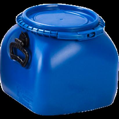 Balde Plástico Alimentício Tipo Bombona 20L - Cor Azul