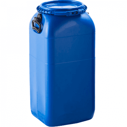 Balde Plástico Alimentício Tipo Bombona 60L - Cor Azul