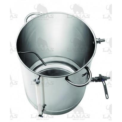 Caldeirão/Panela de Brassagem em Inox