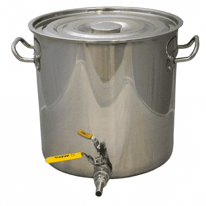 Panela em Inox para Fabricação de Cerveja - 45 Litros
