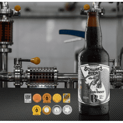 Cerveja Brotas Beer - Schwarzbier