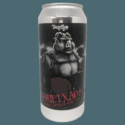Cerveja Dear Hop Queixada - Black Smoke Rye IPA