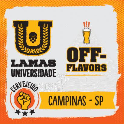 Curso de Off-flavor - Campinas/SP