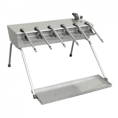 Enchedor de Garrafas Automático em Inox - 6 Bicos