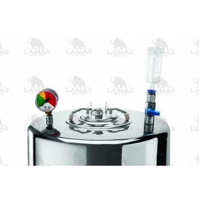 Fermentador Cônico - 30 litros - (tampa postmix) - INOX
