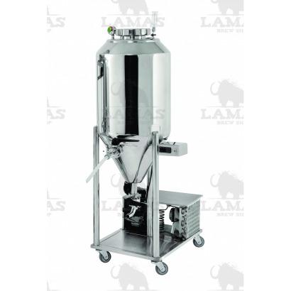 Fermentador Cônico - Refrigerado - INOX