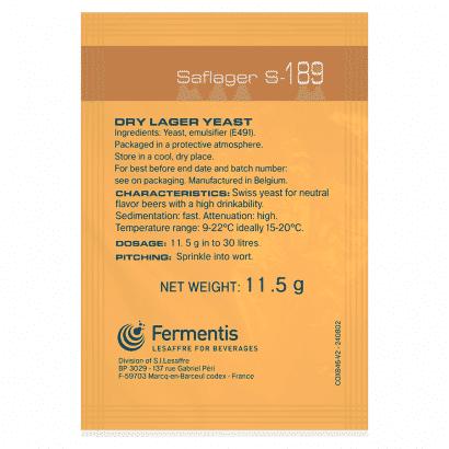 Fermento Fermentis - SafLager™ S-189