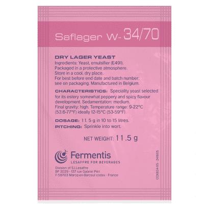 Fermento Fermentis - SafLager™ W-34/70