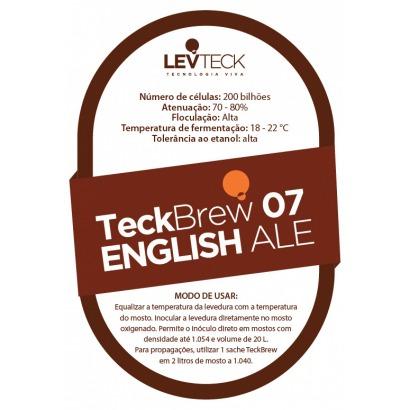 Fermento Levteck - Teckbrew 07 - English Ale