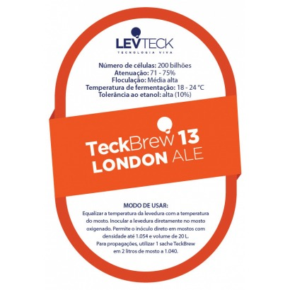 Fermento Levteck - Teckbrew 13 - London Ale