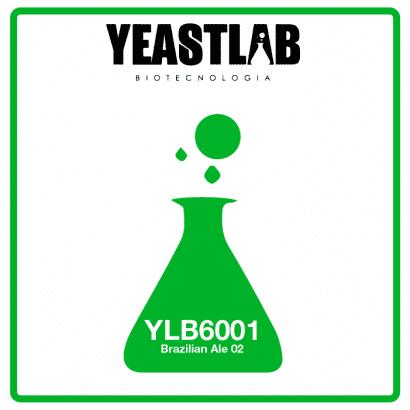 Fermento YeastLab - YLB6001 - Brazilian Ale 02