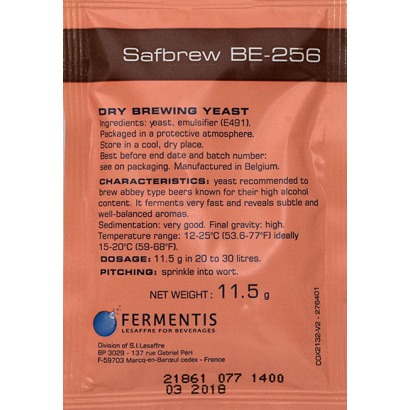 Fermento Fermentis - SafAle™ BE-256