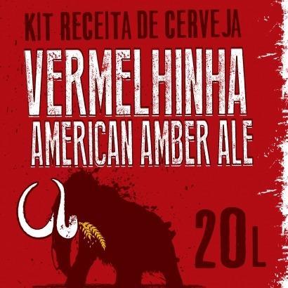 Kit American Amber Ale - Vermelhinha 20 L