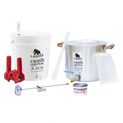 Kit de Fabricação de Cerveja para 10 L - MALTE LÍQUIDO