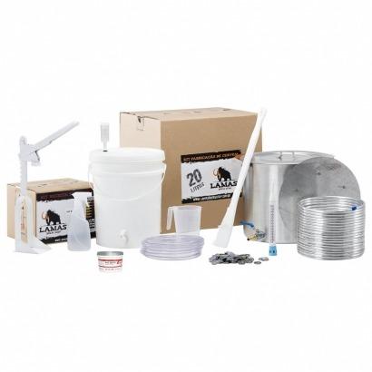 Kit de Fabricação de Cerveja para 20 L - com Fundo Falso