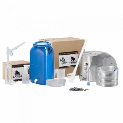 Kit de Fabricação de Cerveja para 40 L - com Fundo Falso