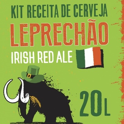 Kit Irish Red Ale - Leprechão 20L