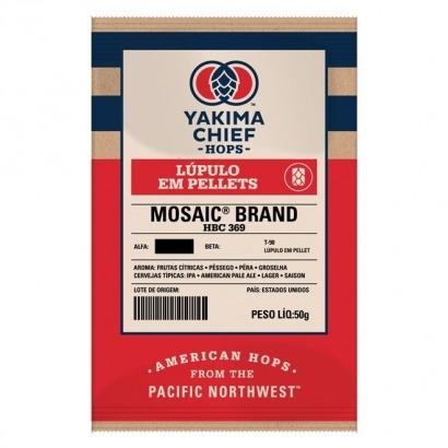 Lúpulo Mosaic - Yakima Chief Hops - 50g