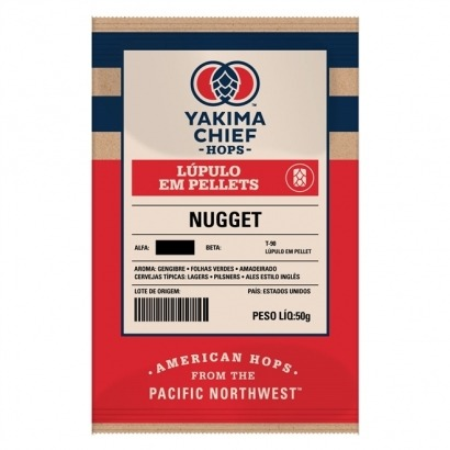 Lúpulo Nugget - Yakima Chief Hops - 50g