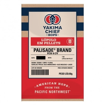 Lúpulo Palisade - Yakima Chief Hops - 50g