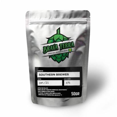 Lúpulo Southern Brewer - Brava Terra - 50g