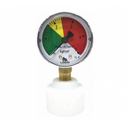 Manômetro  para Válvula Extratora de Barril KEG