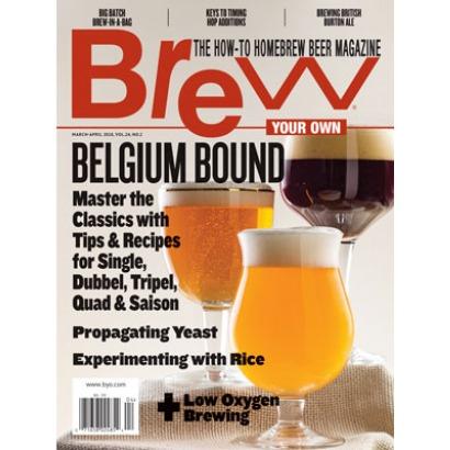 Revista Brew Your Own - Belgium Bound (mar-abr/18)