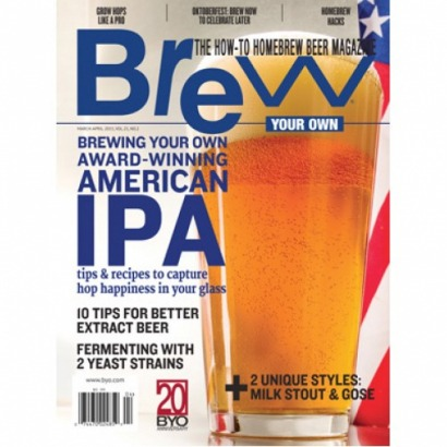 Revista Brew Your Own - Brewing Your Own Award-Winning American IPA (mar-abr/15)