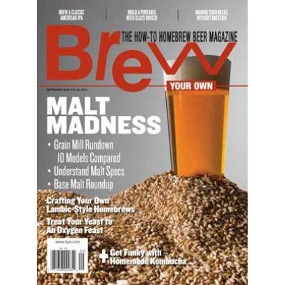 Revista Brew Your Own - Malt Madness (set/18)