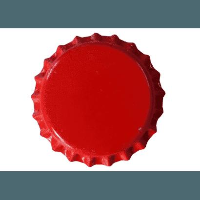 Tampinha - Rolha Metálica Vermelha (PRY-OFF)