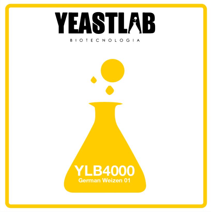 Fermento YeastLab - YLB4000 - German Weizen 01