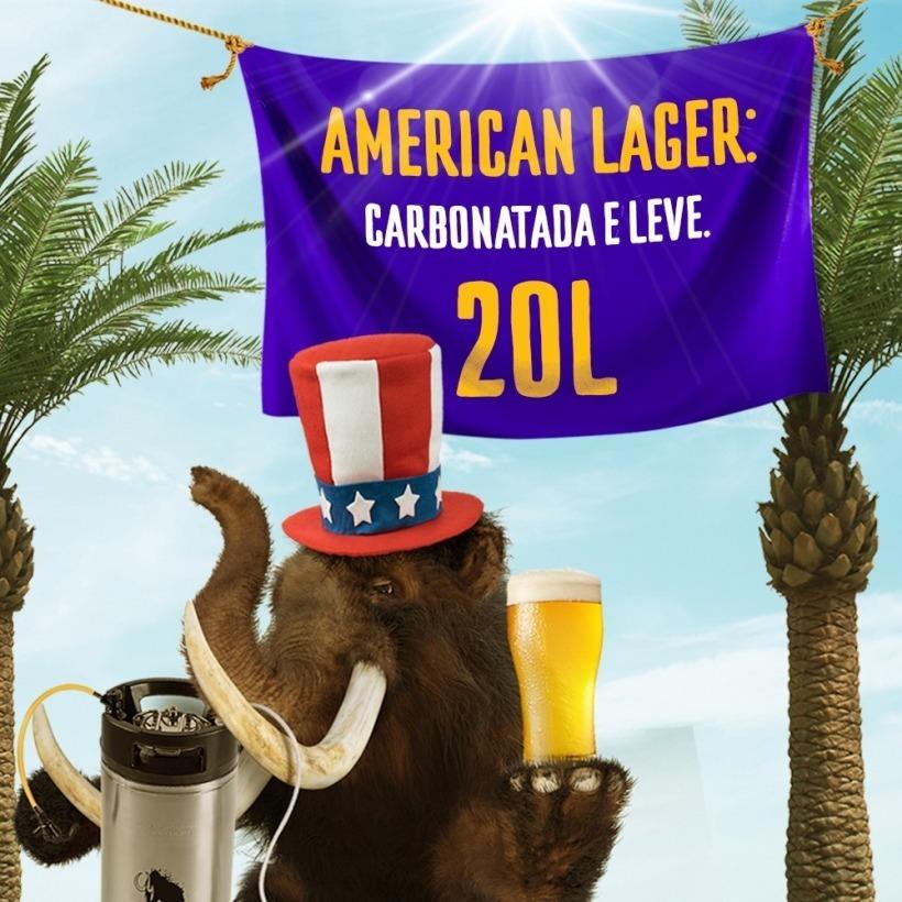 Kit American Lager 20L