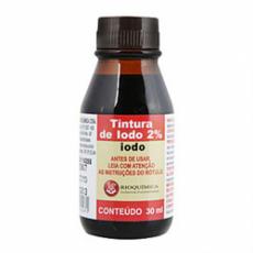 Iodo - Tintura de Iodo 2%
