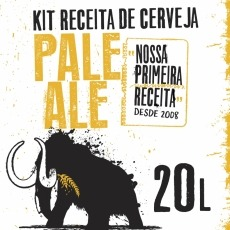 Kit Pale Ale - 1ª Receita do Lamas 20L