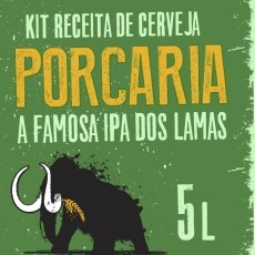 Kit India Pale Ale - Porcaria 5L
