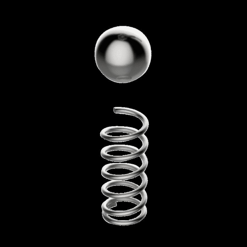 Mola e Esfera Para Válvula de Segurança - Grainfather
