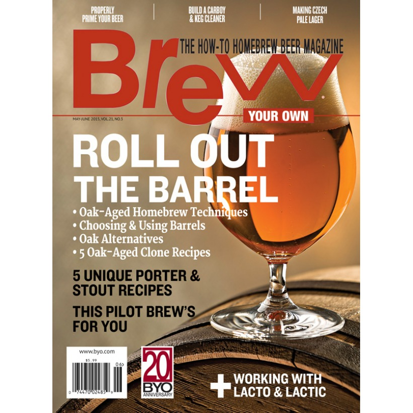 Revista Brew Your Own - Roll Out the Barrel (mai-jun/15)