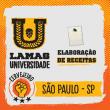 Curso de Criação de Receitas - São Paulo/SP