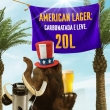 American Lager 20L