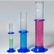 Proveta de Vidro com Base Sextavada de Plástico
